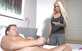 German Niece Caught Step Uncle Jurgen Hobbyist and Helps with Sex
